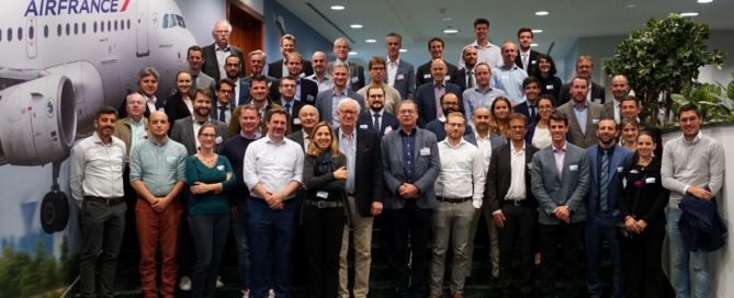 Group photo of the participants to the 1st AW-Drones workshop