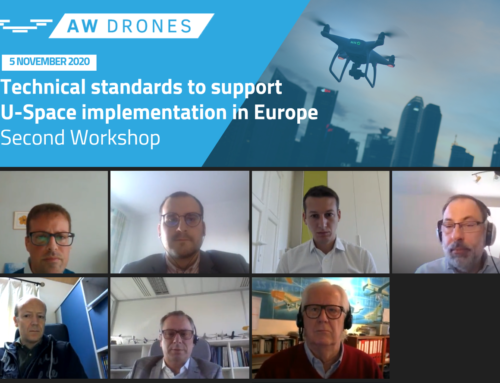 "2nd AW-Drones webinar: ""Technical standards to support U-Space implementation in Europe"""